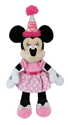 Kids Preferred Minnie Mouse Birthday Buddy Plush, One Size (Minnie Outfit)