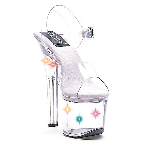 Flirt High Heel Heels (Ellie Shoes High Heel Clear 7