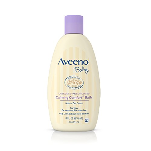 Aveeno Baby Calming Comfort Bath, 8 Fl. Oz (Pack of 2)