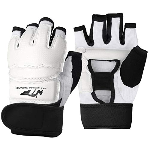 Punch Bag Training Gloves, LangRay Taekwondo Karate Gloves for Sparring Martial Arts Boxing Training for Adults and Kids