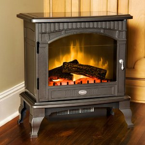 Dimplex DS5629GP Traditional Electric Stove, Glossy Pewter by DIMPLEX