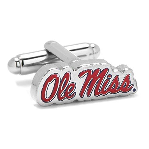 Ole Miss University Rebels Cufflinks Novelty 1 x 1in ()