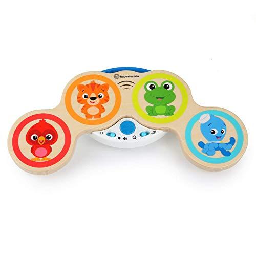 Baby Einstein Magic Touch Drums Brinquedo Musical, Vermelho/Laranja/Azul/Verde/Bege, 11650