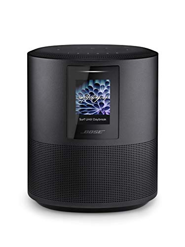 Bose Home Speaker 500 with Alexa voice control built-in, Black (System Speaker Boss Home)