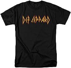 54aacfa49d97 Def Leppard Logo Officially Licensed T-Shirt ...