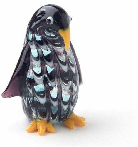 Fitz & Floyd Art Glass Penguin - Glass Floyd Fitz Art &