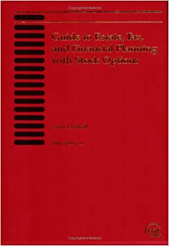 Book Guide to Estate Tax & Financial Planning With Stock Options 2006