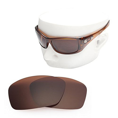 OOWLIT Replacement Sunglass Lenses for Oakley Hijinx Brown Non-polarized by OOWLIT