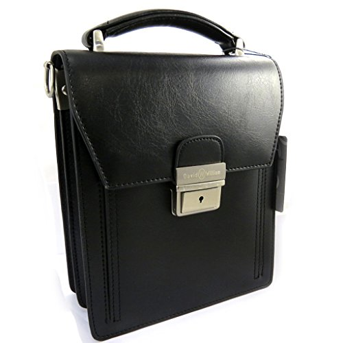 pieghe Borsa William'nero 2 uomo 'David wqqxRfTO