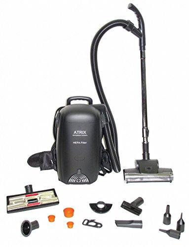 1-1/2 gal. Backpack Vacuum, 106 cfm, 1 HP, 12 Amps, HEPA Filter Type (12 Hepa Vacuum Amp Filter)