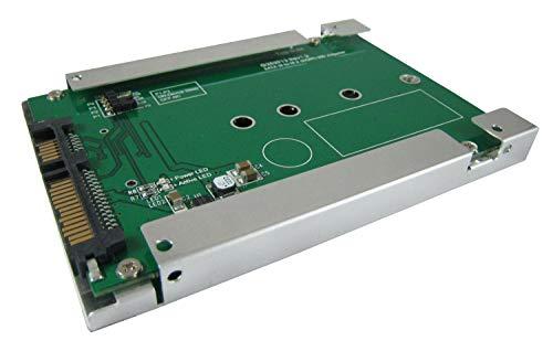 SATA III to M.2 SSD Adapter Device Sleep Mode (DEVSLP) with Frame Housing