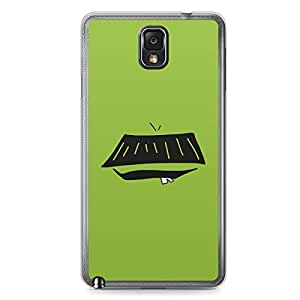 Smiley Samsung Note 3 Transparent Edge Case - Design 12