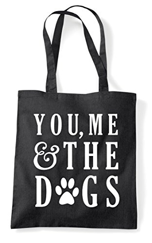 The Statement Shopper Tote Dogs You Bag Black Me And 1SBa7n