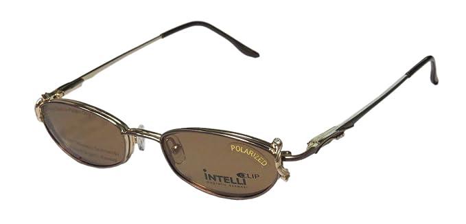 2de29b1dcae Elite Eyewear Intelli Clip 750 For Ladies Women Designer Full-Rim Shape  Sunglass Lens