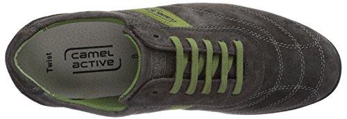 camel active Twist 20 Herren Sneakers Grau (Charcoal)