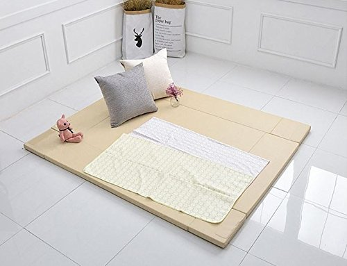 MAMING Speed Bumper Bed Eco friendly oversize Playmat (Beige) by Maming