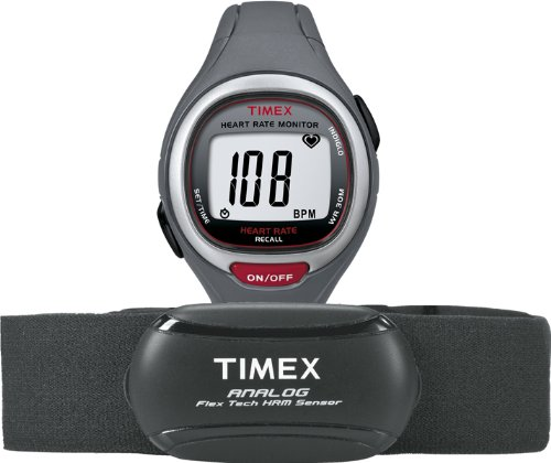 TIMEX Easy Trainer with HRM, Grey/Red