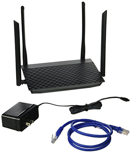 Asus Wireless AC1200 Dual-Band Router - (RT-AC1200) by Asus