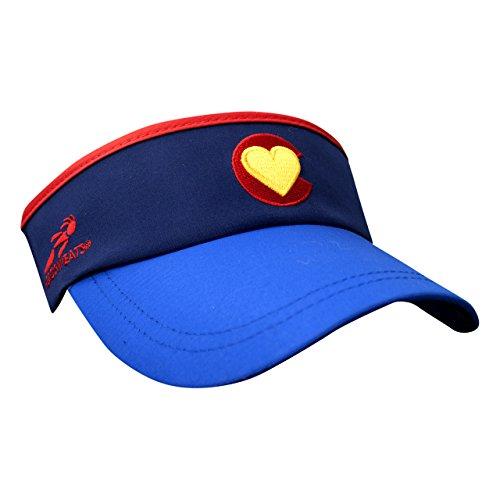 - Headsweats Supervisor Colorado Love Headwear, Blue, One Size