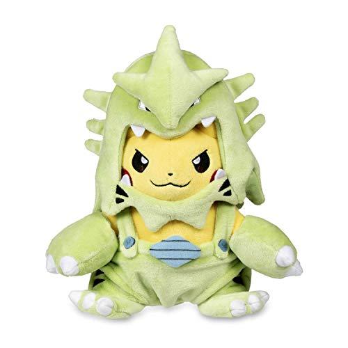 Pikachu Costume Plush (Pokémon POKÉ Plush Pikachu Wearing TYRANITAR POKÉ MANIAC Costume)