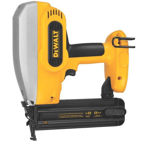 Dewalt 18v Finish Nailer (DEWALT Bare-Tool DC608B 18-Volt Cordless 2-Inch 18 Gauge Brad Nailer (Tool Only, No Battery))