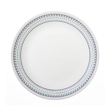 "Corelle Livingware Folk Stitch 10-1/4"" Dinner Plate (Set of 6)"