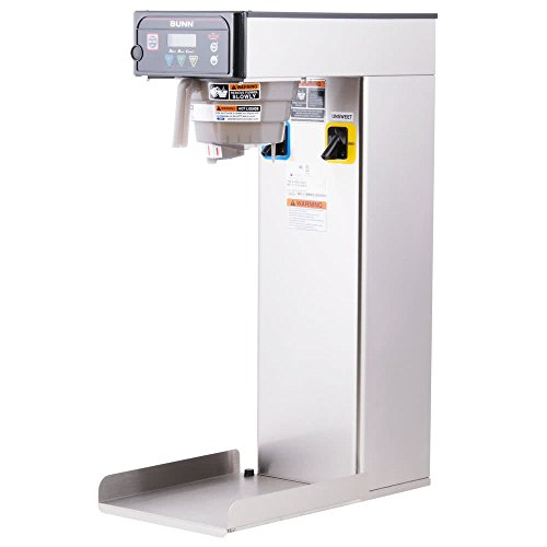 Bunn 41400.0003 Infusion Series Dual Dilution Iced Tea Brewer, With Sweetener, Single Brewer (Brews 16.3 to 26.7 Gallons Per Hour)