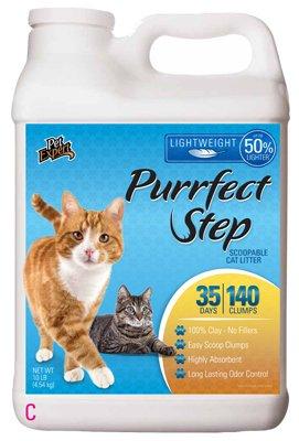 Oil-Dri TV47510PL Cat Litter, Scented, Lightweight Formula, 10-Lbs. - Quantity 3