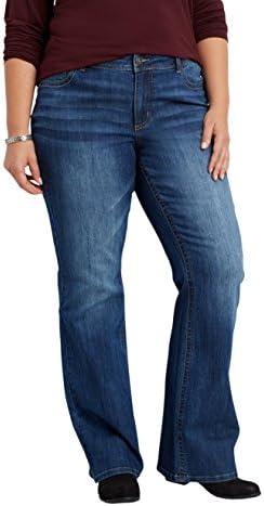 Maurices denimflex Plus de tamaño mediano Wash de la mujer bootcut jeans