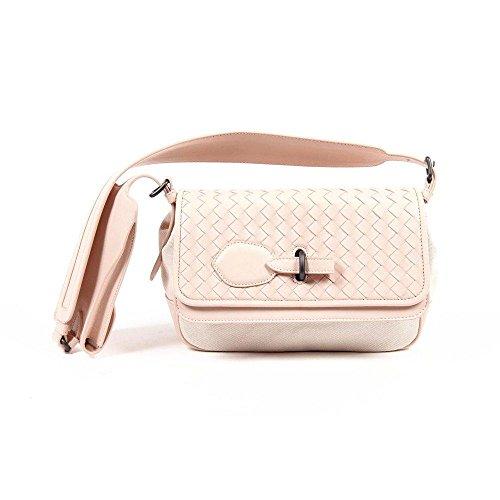 Pink ONE SIZE Bottega Veneta Womens Intrecciato Handbag 368025 VAOY1 6886