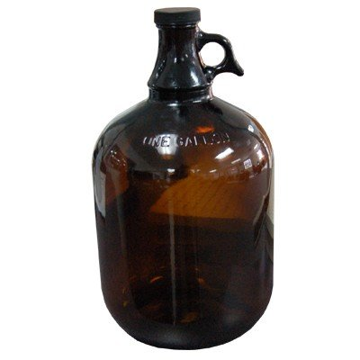 Air Sea Containers 1 Gallon Glass Jug (Amber)
