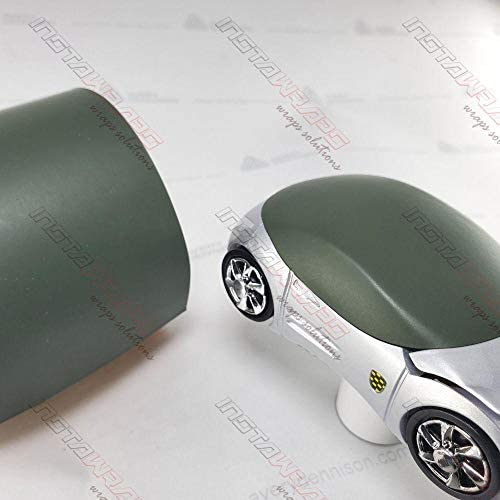 Avery SW900 Matte Olive Green | 732-O | Vinyl CAR WRAP Film (5ft x 50ft (250 Sq/ft)) w/Free-Style-It Pro-Wrapping Glove