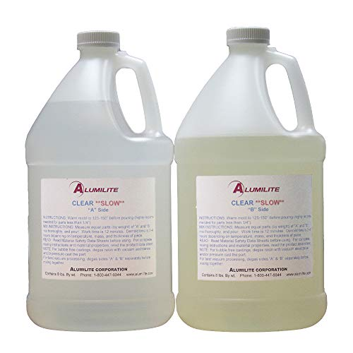 Alumilite Clear (Slow) Urethane Casting Resin (2 Gallon) by Pen Kit Mall (Image #1)