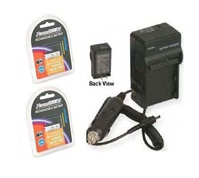 2X GB-40 Batteries + Charger for GE E850, GE E1030, GE E1035 E1040, GE E1050, GE E1235 E1250 H855