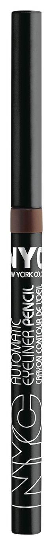 N.Y.C. New York Color Hd Automatic Eyeliner Waterproof, Deep Brown, 1-Count Coty NYC428872