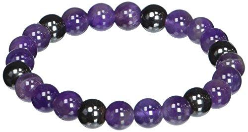 Zorbitz Lucky Magnetic Bracelet, Amethyst ()