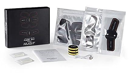 YACOCOS Rechargable sans Fil EMS /électrique Abdominale Bras Stimulateur de Muscles pour Exercice entra/înement intensif Fitness Masseur Appareil