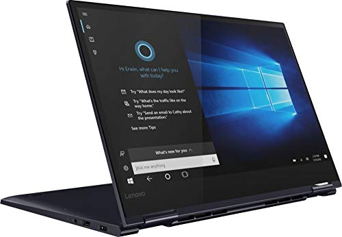 "2019 Lenovo Yoga 730 2-in-1 15.6"" FHD IPS Touch-Screen Premium Laptop, Intel Quad Core i5-8265U Upto 3.9GHz, 12GB RAM, 256GB PCIe SSD, Backlit Keyboard, Fingerprint Reader, Windows 10, Abyss Blue"