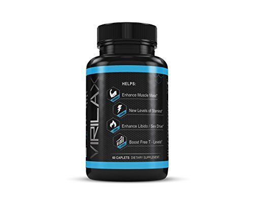 Testosterone-Booster-Dietary-Supplement-By-Virilax–60-Caplets-W-Horney-Goat-Weed-Tongkat-Ali-Extract-FlowViv-Max-Test-Blend–Enhances-Muscle-Mass-Libido-Improves-Stamina-Performance