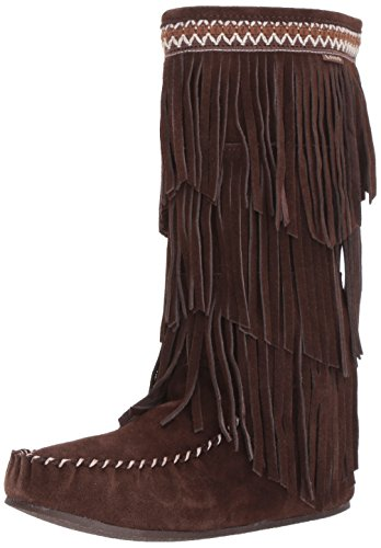 Lamo Womens Virginia Slouch Boot Chocolate