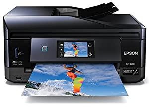 Epson Expression Premium XP-830 Wireless Color Photo Printer with Scanner, Copier and Fax Refurbished