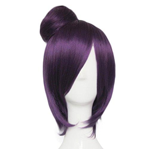 Mtxc Naruto Cosplay Naruto Konan Wig Purple