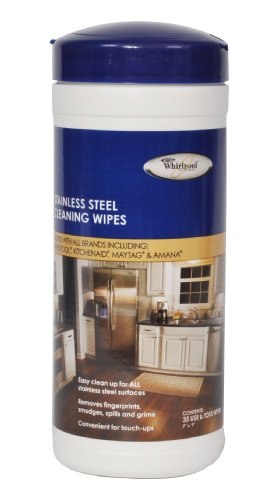 Whirlpool 8212510A Stainless Steel Cleaning