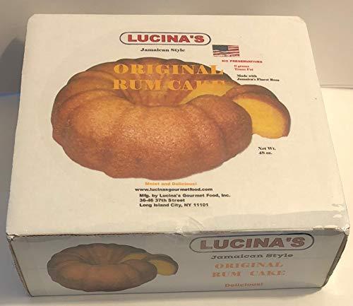 Cakes Gourmet - Lucina's Gourmet Jamaican Style Original Rum Cake, 48 Ounce