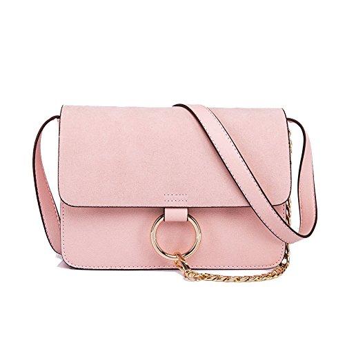 Chaîne Ajlbt Petit À Gommage Sac Sacs Paquet Carré Été Bandoulière Pink Main Printemps pazrp0A