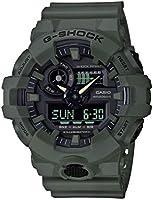 Casio Men's XL Series G-Shock Quartz 200M WR Shock Resistant Resin Color: Matte Olive Green (Model GA-700UC-3ACR)