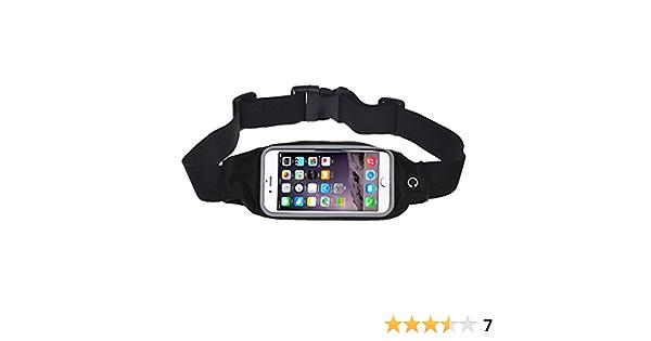 Cinturones de Hidrataci/ón Ri/ñonera Hombre Mujer Deportes Running Bicicleta Caminar Correr Bolsa de Cintura Bandolera para m/óviles hasta 4,7 Pulgadas