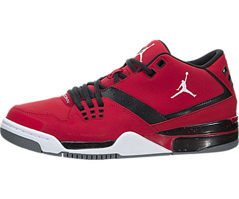 Nike Jordan Mens Jordan Flight23 Gym Red/White/Black/Cool Grey Basketball Shoe 10 Men US by Jordan