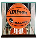 NBA Rectangle Basketball Glass Display Case, Black
