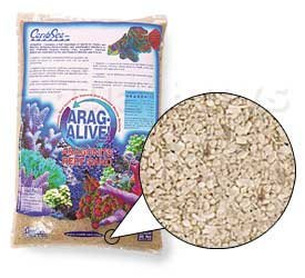 Carib Sea Arag-Alive Substrate Special Grade Reef Sand, 10 lb. by Carib Sea